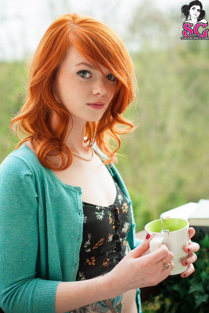 the rule page if it exists there is porn #adorable #cocacola #eyecontact #nonnude #pale #redhead #redlips #sexydress