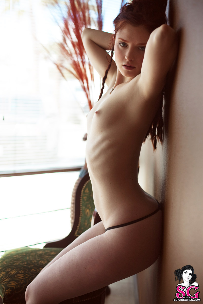 while the softcore session brunette pepper anilos shows #Opaque from #SuicideGirls #cute #eyes #lips #dreadlocks #beautiful #redhead #freckles #boobs #smallboobs #thong
