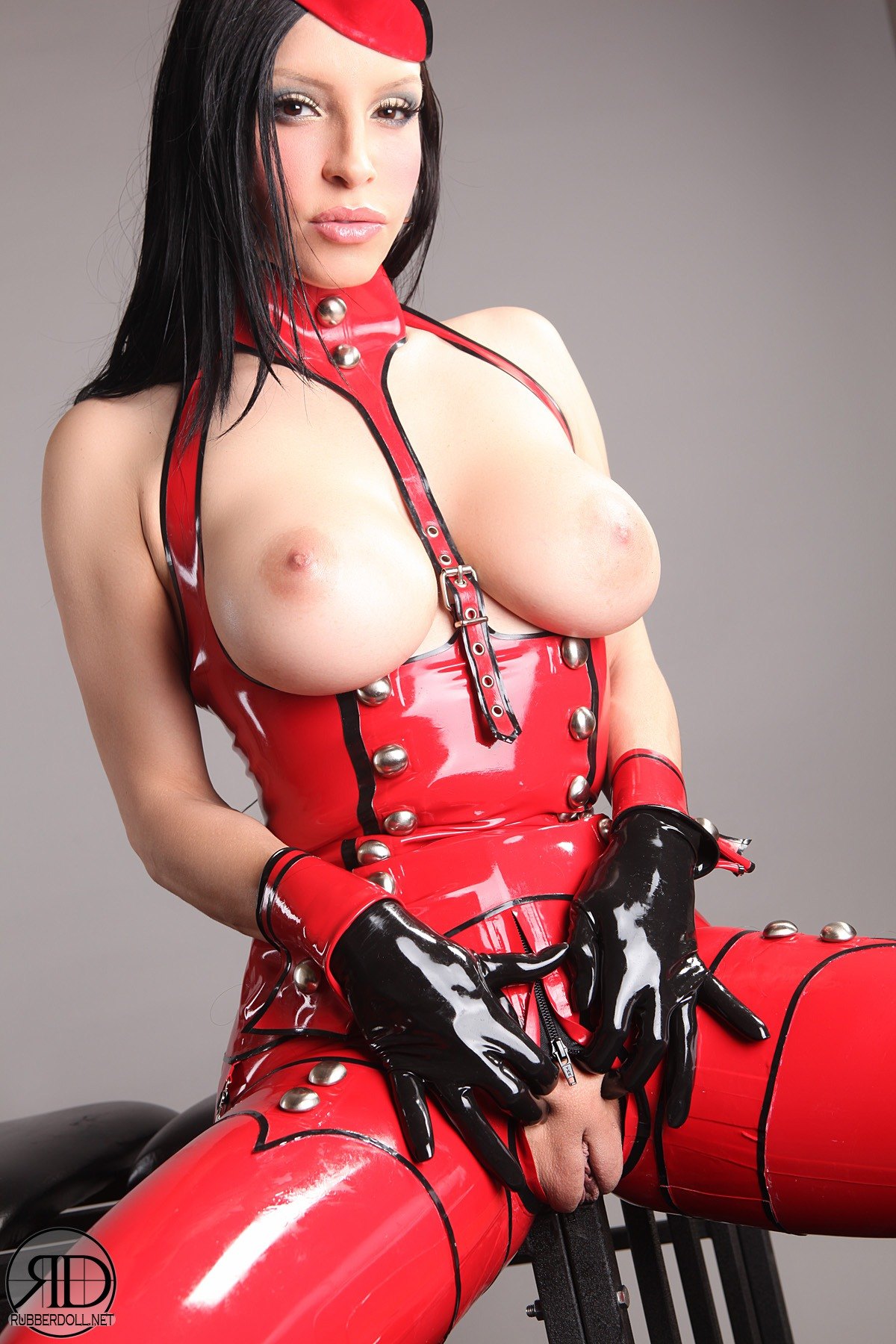 sharing his wife pussy with a guy from craigslist #fetish #latex #rubber #shiny #uniform